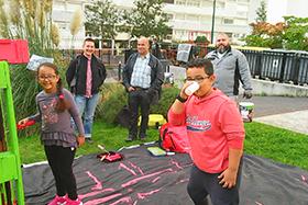 Mobilier urbain participatif Quartier du Luth